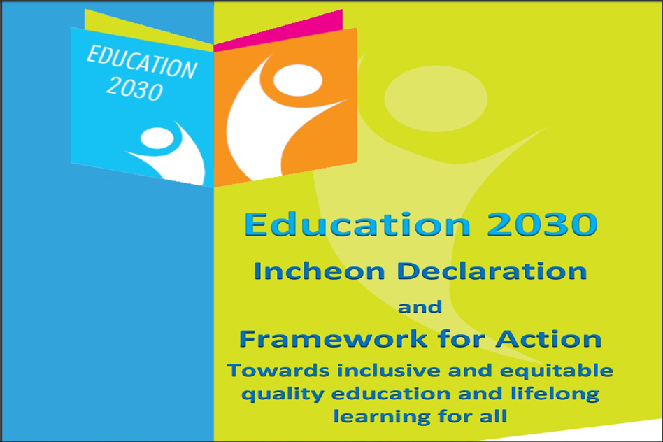 Education 2030: Incheon declaration & framework for action (2015)