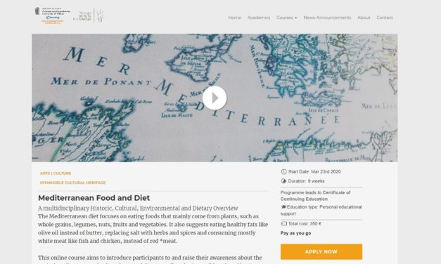 Mediterranean Food and Diet e-course