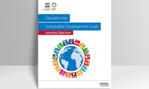 UNESCO Publication: Education for Sustainable Development Goals, learning objectives