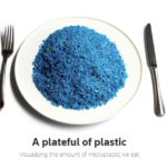 A plateful of plastic