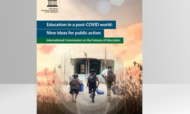 Education in post-COVID era: 9 ideas for action