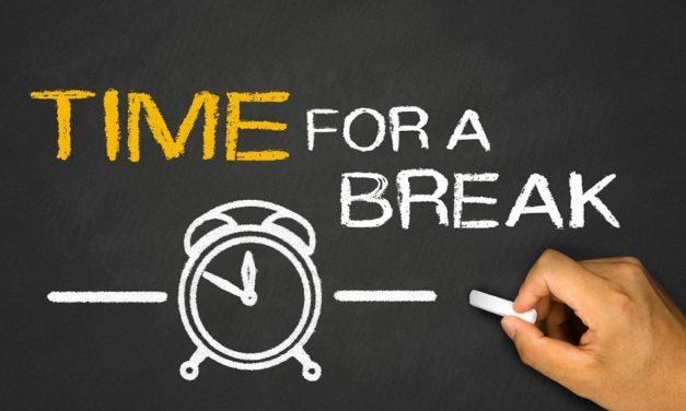 On the power of taking short breaks