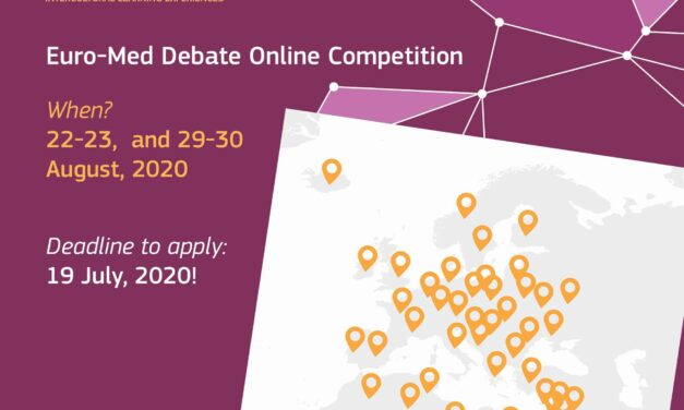 Join the 3rd Virtual Euro-Med debate competition -Summer edition