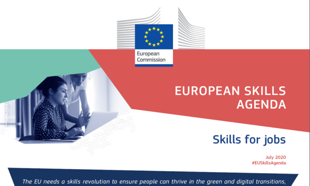 EU Skills Agenda for sustainable competitiveness, social fairness and resilience