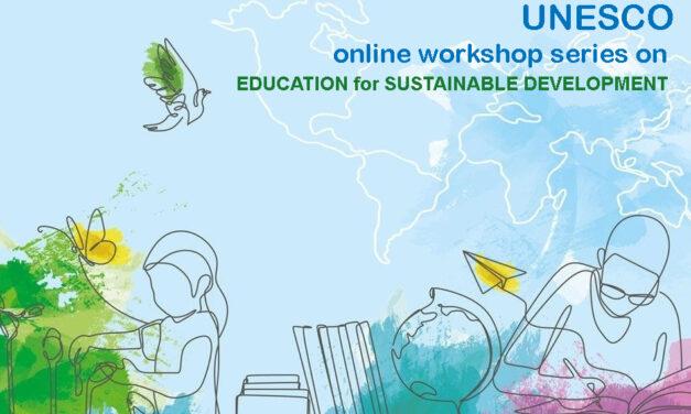 UNESCO online workshop series on ESD