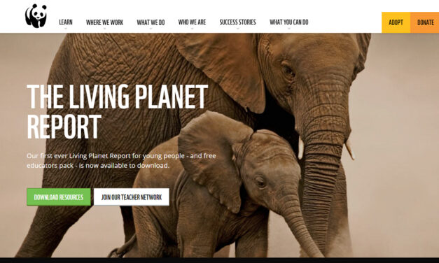 WWF's Living Planet Report (youth edition)