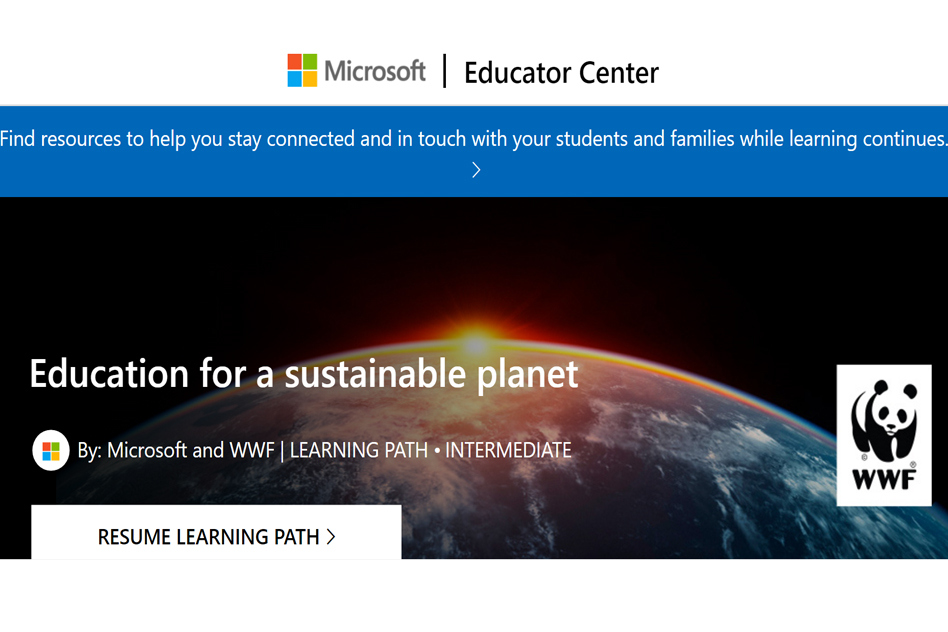 Education for a Sustainable Planet