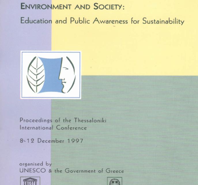 UNESCO Thessaloniki Declaration on Environment and Society (1997)