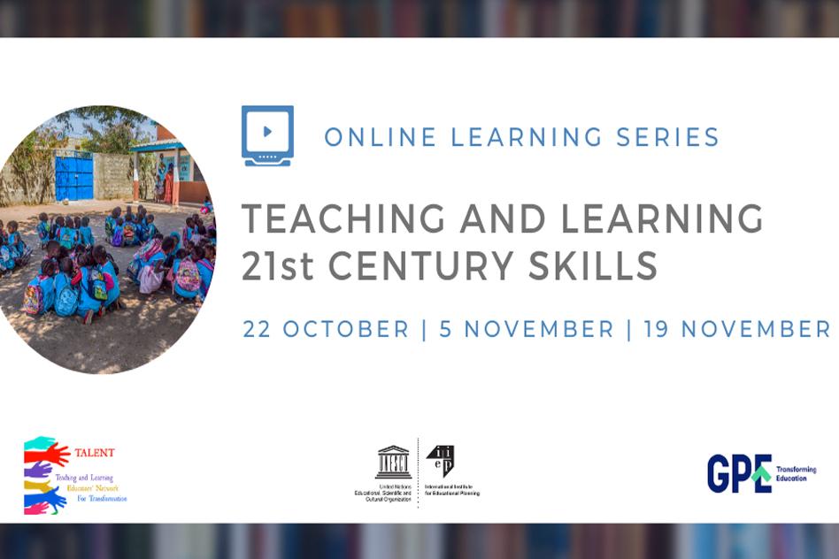 Teaching & learning 21st century skills