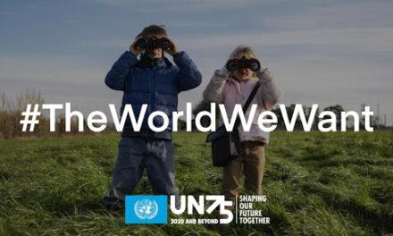 #TheWorldWeWant