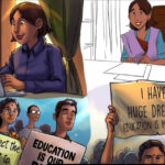 An inspiring struggle for the right to education