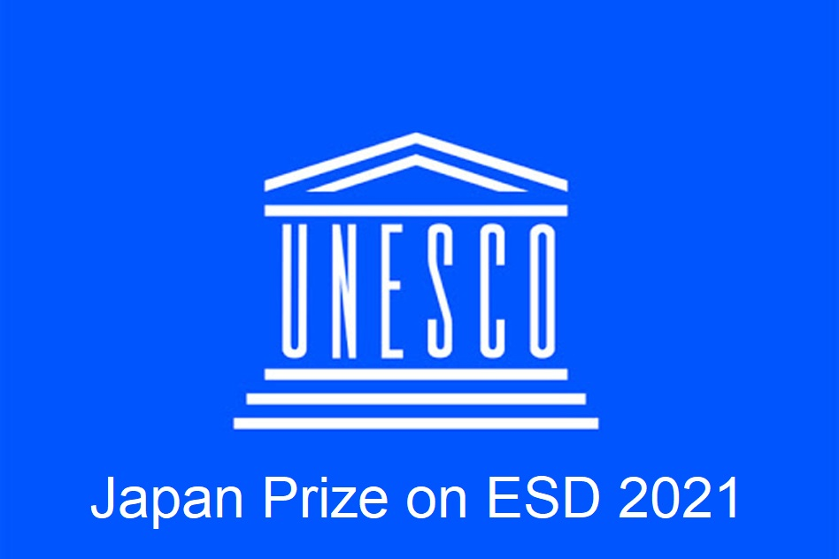 UNESCO Japan Prize on ESD 2021