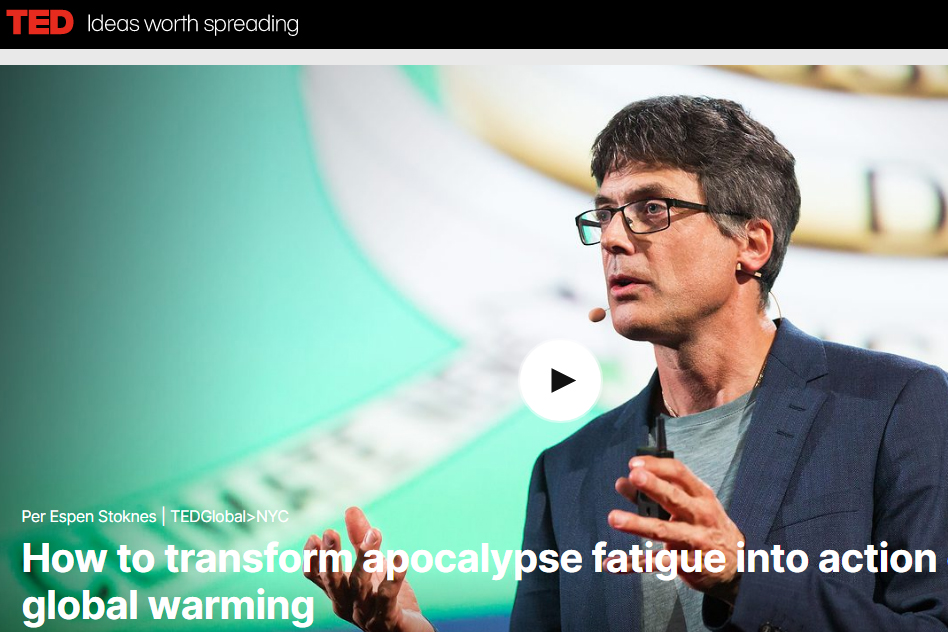 TED talk: Engaging Climate Communication