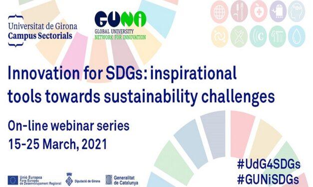 Innovation for SDGs Webinar Serries by GUNi