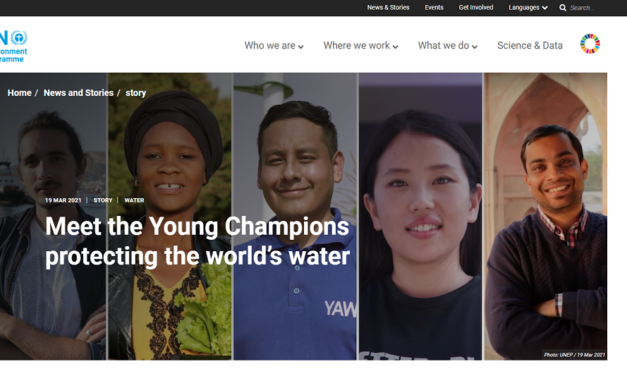Meet the Young Water Champions