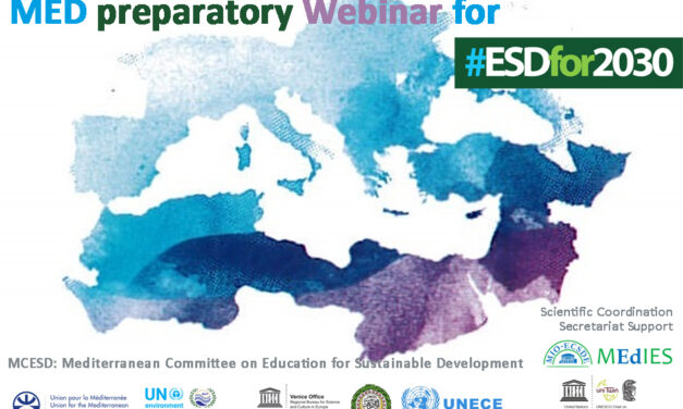 Med. Preparatory Webinar for #ESDfor2030, 20 April 2021