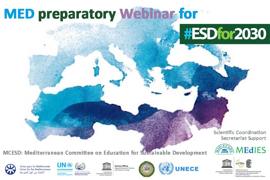 Med. Preparatory Webinar for #ESDfor2030, 20 April 2021