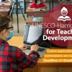 UNESCO-Hamdan Prize for Teacher Development 2021