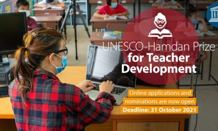UNESCO-Hamdan Prize for Teacher Development 2021