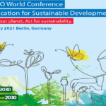 World ESD Conference livestreamed sessions 17-19 May!