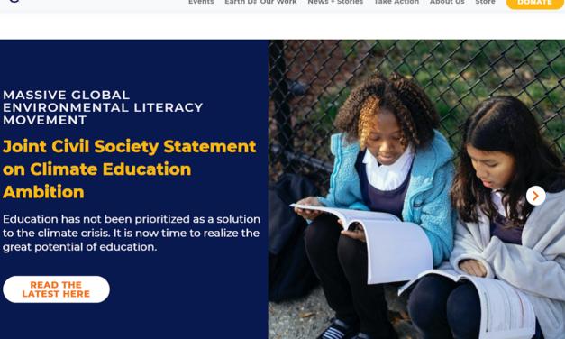 Climate Education Ambition Statement