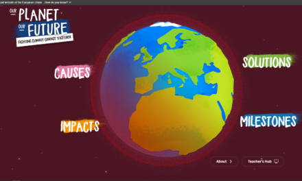 """""""Our planet, our future"""" interactive platform"""