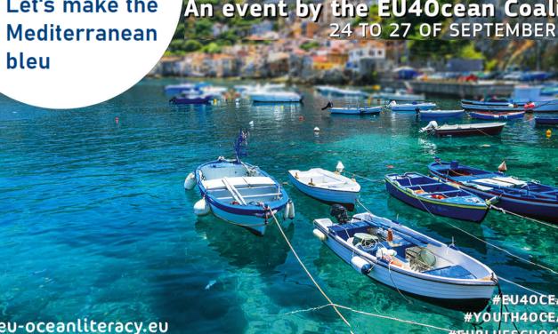 Let's make the Mediterranean Blue