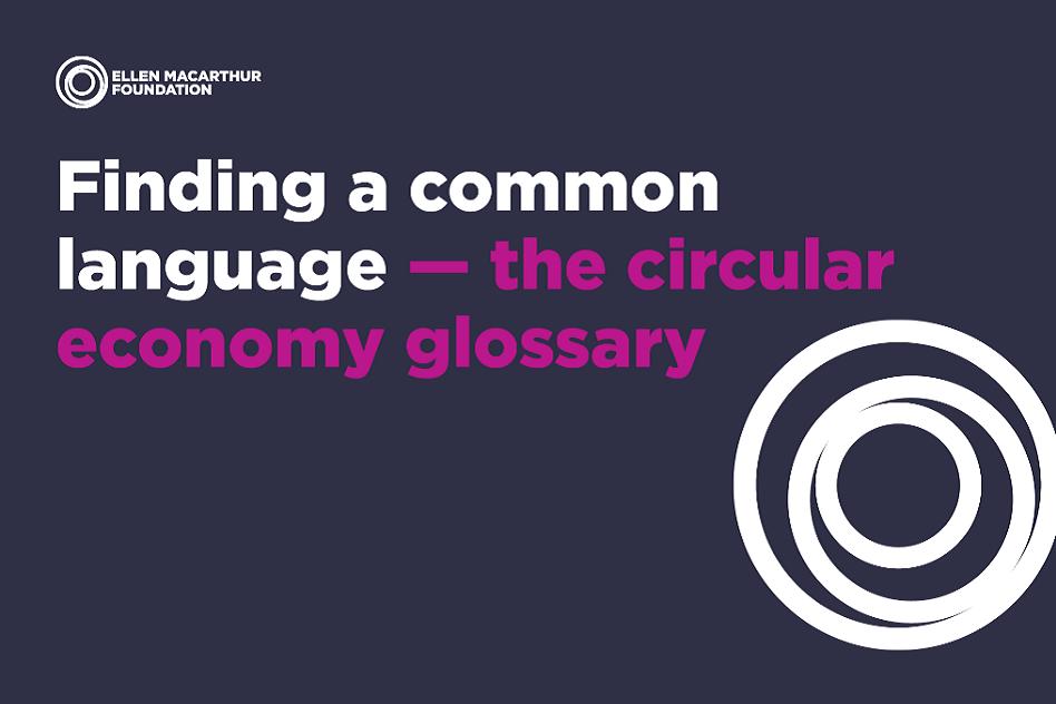 A glossary on circular economy