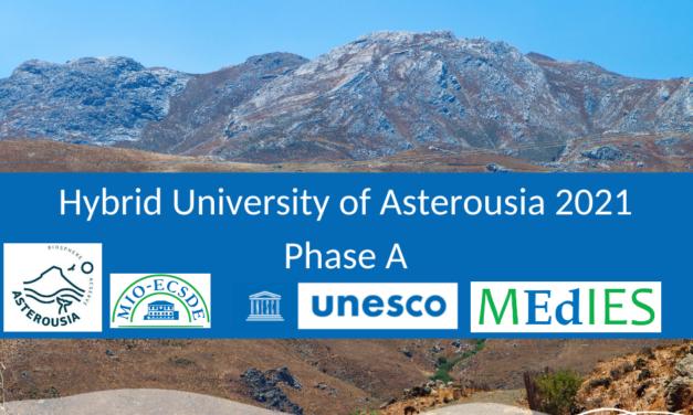 2021 Asterousia Hybrid University – Phase A