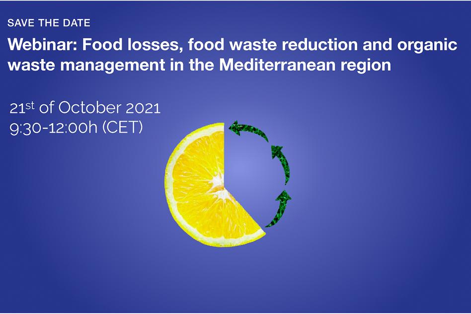 Webinar on food waste mananagement in the Mediterranean